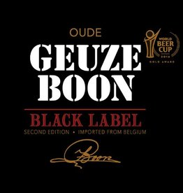 Boon 'Black Label' Oude Geuze 375ml