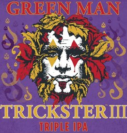 Green Man 'Trickster III' Triple IPA 12oz Sgl