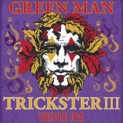 Green Man 'Trickster III' Triple IPA 12oz Sgl
