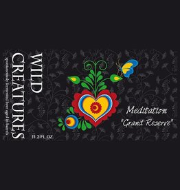 Wild Creatures 'Meditation - Grand Reserve' 11.2oz Sgl
