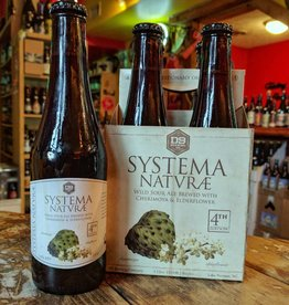 D9 'Systema Naturae' Wild Sour Ale brewed with Cherimoya & Elderflower 12oz Sgl