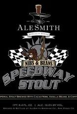 Alesmith 'Nibs & Beans Speedway' Imperial Stout 32oz Growler