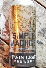 Twin Leaf 'Simple Machine' Hoppy Lager 16oz (can)