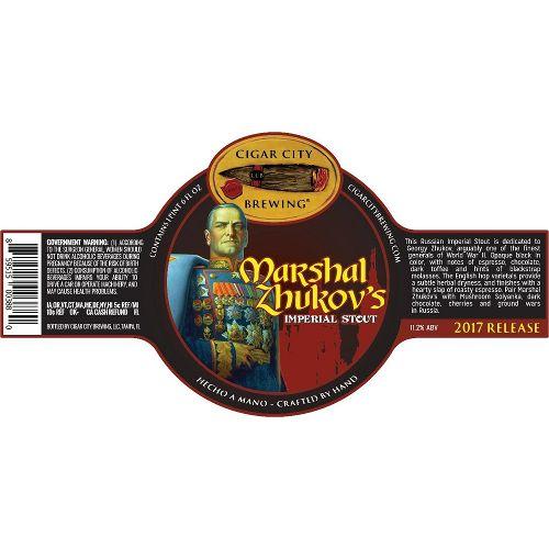 Cigar City 'Marshal Zhukov' Imperial Stout 22oz
