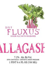 Allagash 'Fluxus 2017' Saison Ale brewed with Rhubard 750ml