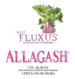 Allagash 'Fluxus 2017' Saison Ale brewed with Rhubard 750ml
