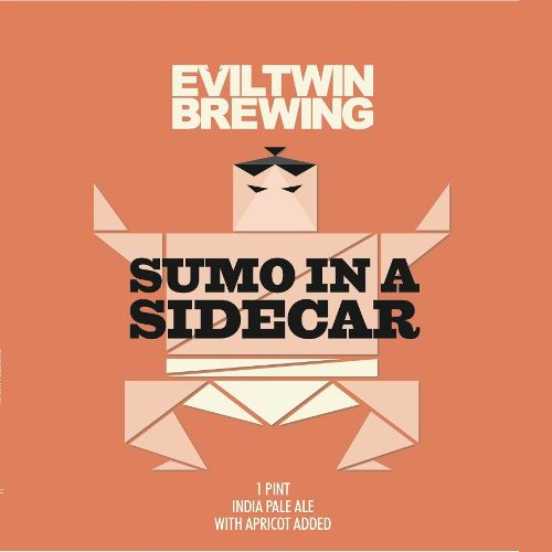 Evil Twin 'Sumo in Sidecar' Apricot IPA 16oz Sgl (Can)