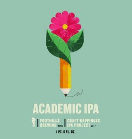 Foothills 'Academic' Craft Happiness Project IPA 22oz
