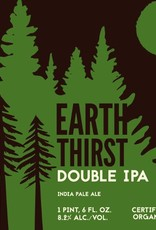 Eel River 'Earth Thirst' Organic Double IPA 22oz