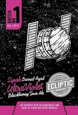 Ecliptic 'Syrah Barrel-aged Ultra Violet' Blackberry Sour Ale 22oz