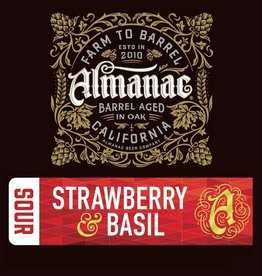 Almanac 'Strawberry Basil' Sour Ale 375ml