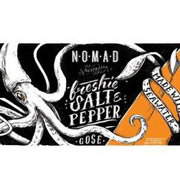 Nomad 'Freshie' Salt & Pepper Gose  12oz Sgl (Can)