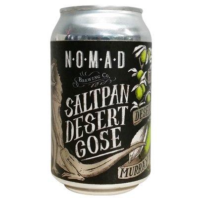 Nomad 'Saltpan' Desert Gose 12oz Sgl