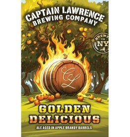 Captain Lawrence 'Golden Delicious' Apple Brandy Barrel-aged Tripel 12oz Sgl