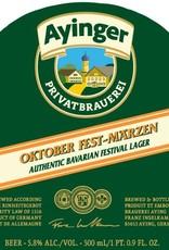 Franziskaner 'Ayinger Oktoberfest' Lager 500ml