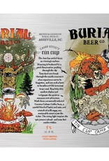 Burial 'Tin Cup Camp Stout' Coffee Stout 16oz Sgl (Can)