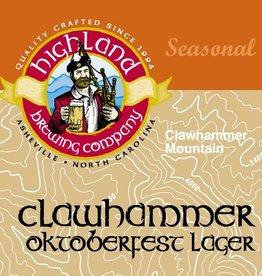 Highland Brewing Company 'Clawhammer' Oktoberfest Lager 12oz Sgl