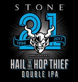 Stone 'Hail to the Hop Thief' 21st Anniversary Double IPA 22oz