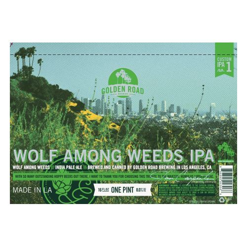 Golden Road 'Wolf Among Weeds' IPA 16oz Sgl