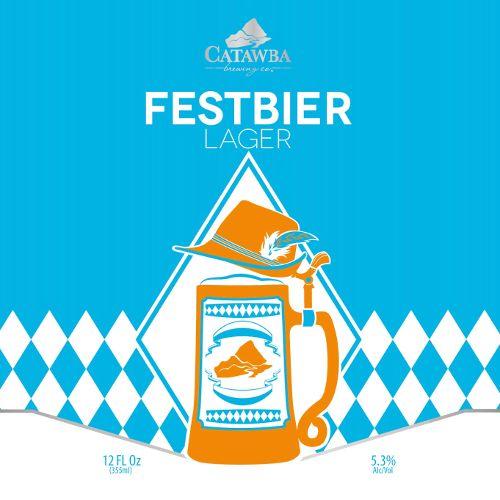 Catawba 'Festbier' Oktoberfest Lager 12oz Sgl (Can)