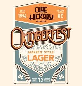 Olde Hickory 'Oktoberfest' Marzen Style Lager 12oz Sgl