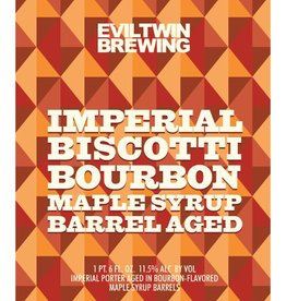 Evil Twin 'Imperial Biscotti Bourbon Maple Syrup Barrel Aged' 22oz