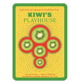 Brooklyn 'Kiwi's Playhouse' Zesty Sour Ale w/ Kiwi 750ml