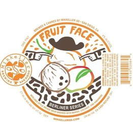 Mikkeller SD 'Fruit Face Mango, Coconut, Habanero' 16oz Sgl (Can)