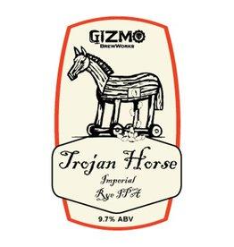 Gizmo BrewWorks 'Trojan Horse' Imperial Rye IPA 22oz
