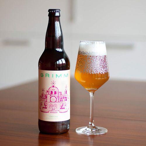 Grimm Ales 'Castling' Dry-hopped Farmhouse Ale 22oz