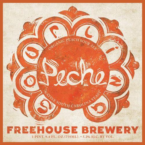 Freehouse 'Sourlina Peche' Organic Peach Sour Ale 750ml
