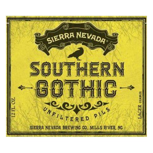Sierra Nevada 'Southern Gothic' Unfiltered Pils 12oz Sgl