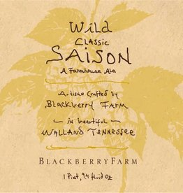 Blackberry Farm 'Wild Classic Saison' Farmhouse Ale 750ml