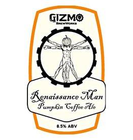Gizmo BrewWorks 'Renaissance Man' Pumpkin Coffee Ale 22oz