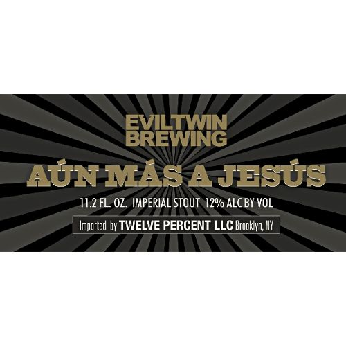 Evil Twin Aun Mas a Jesus' Imperial Stout 330ml