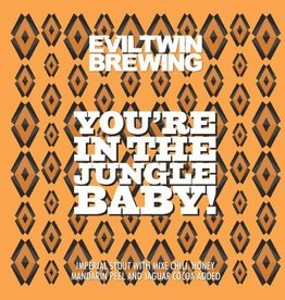Evil Twin x Jackie Os 'You're in the Jungle Baby!' 12oz Sgl (Can)