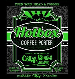 Oskar Blues 'Hot Box' Coffee Porter 12oz Sgl (Can)
