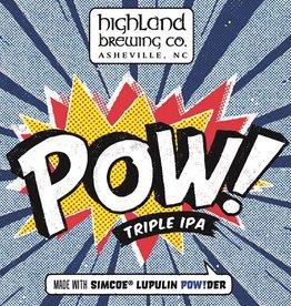 Highland 'POW!' Triple IPA 12oz Sgl