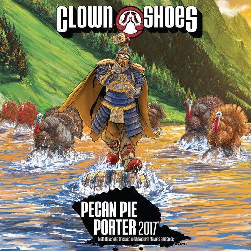 Clown Shoes 'Pecan Pie' Bourbon Barrel Aged Porter w/ Spices 22oz