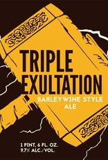 Eel River 'Triple Exultation 2017'Barleywine 22oz