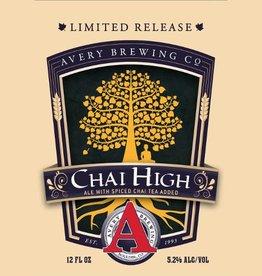 Avery 'Chai High' Ale w/ Spiced Tea Added 12oz Sgl (Can)