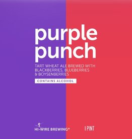 Hi-Wire 'Purple Punch' Tart Wheat Ale w/ Berries 16oz Sgl (Can)