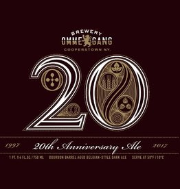 Ommegang '20th Anniversary' Bourbon Barrel-aged Dark Belgian Ale  750ml