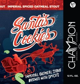Champion 'Santas Cookies' Spiced Imperial Stout 12oz Sgl (Can)