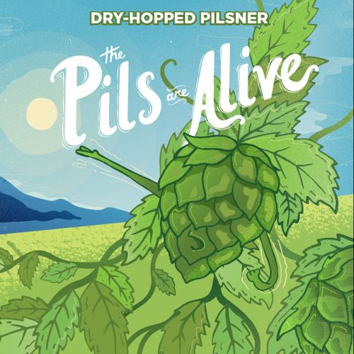 Champion 'Pils Are Alive' Dry-Hopped Pilsner 12oz Sgl (Can)