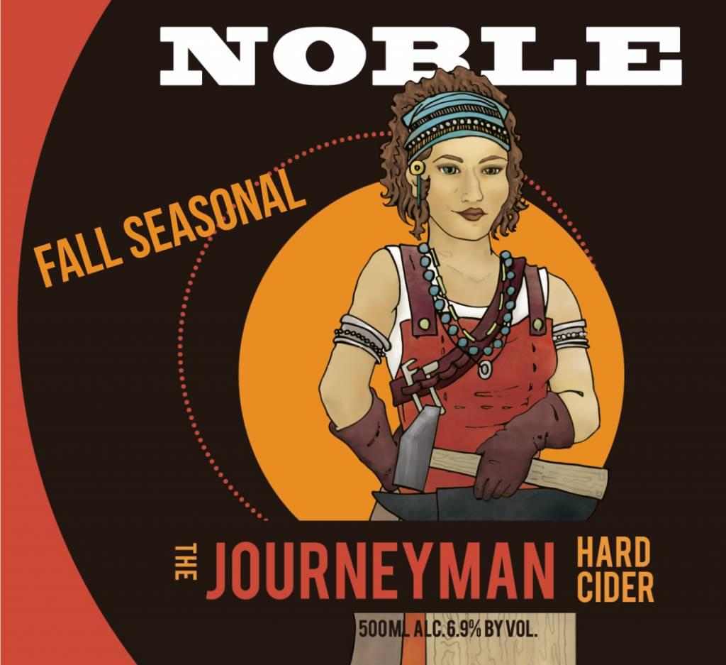 Noble Cider 'Journeyman' Hard Cider 500ml