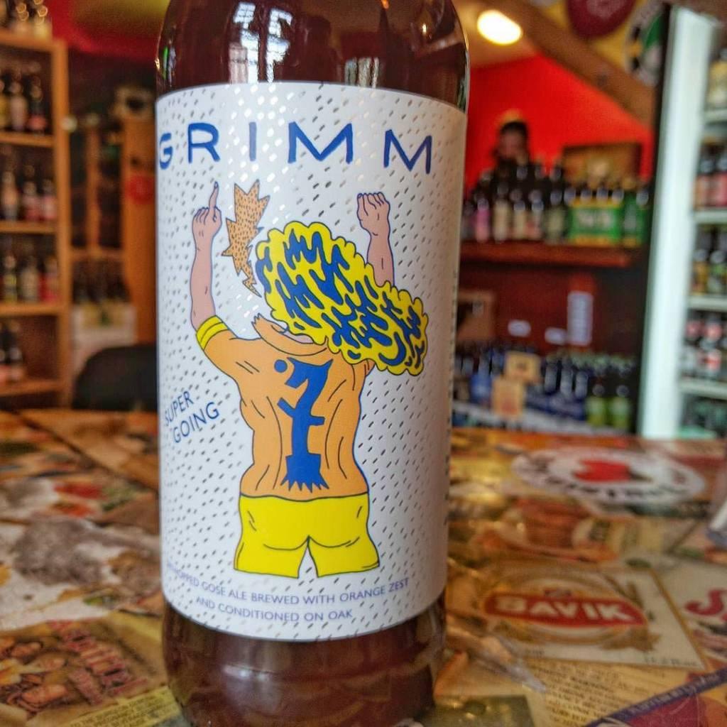 Grimm Artisanal Ales 'Super Going' Oak Aged Gose 22oz