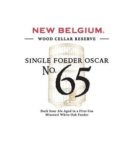 New Belgium 'Single Foedre Oscar - No. 65' 375ml