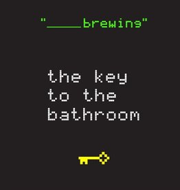 Blank Brewing 'The Key to Bathroom' 12oz Sgl (Can)