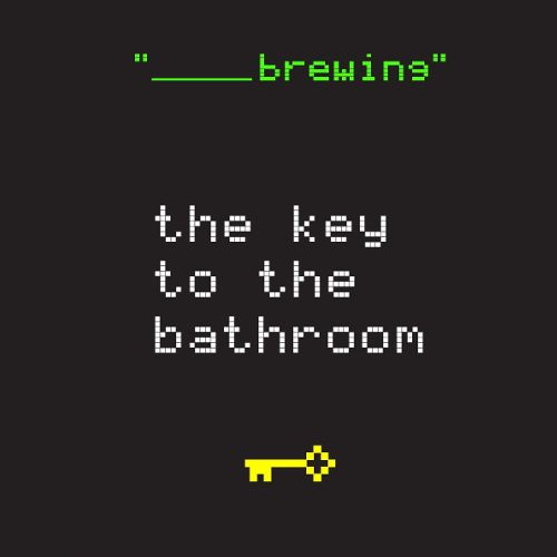 Blank Brewing 'The Key to Bathroom' 12oz Sgl (Can)